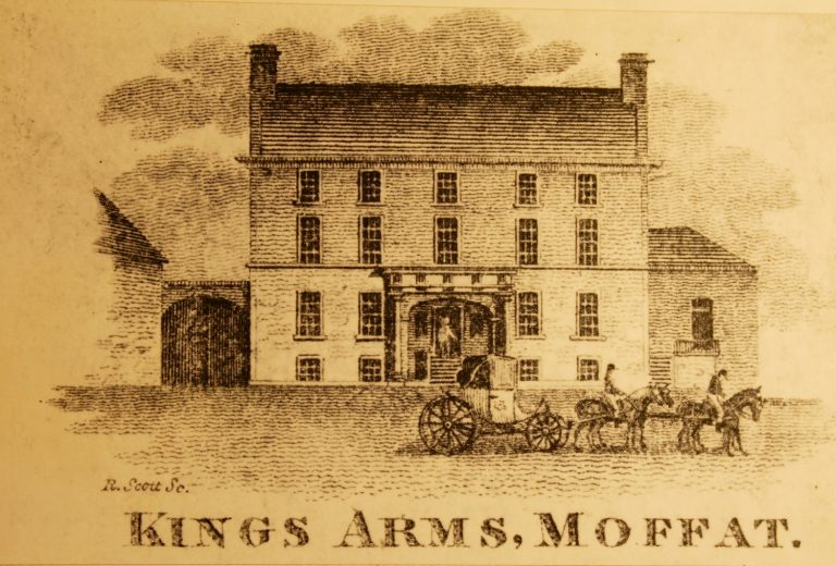 The King's Arms Hotel, Moffat, now the Annandale Arms