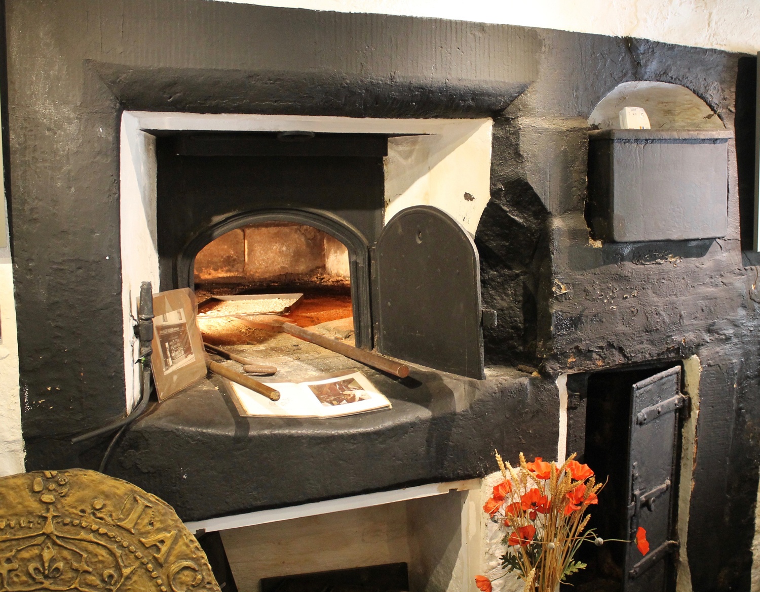 The Bakehouse in Moffat still has its original Scotch oven