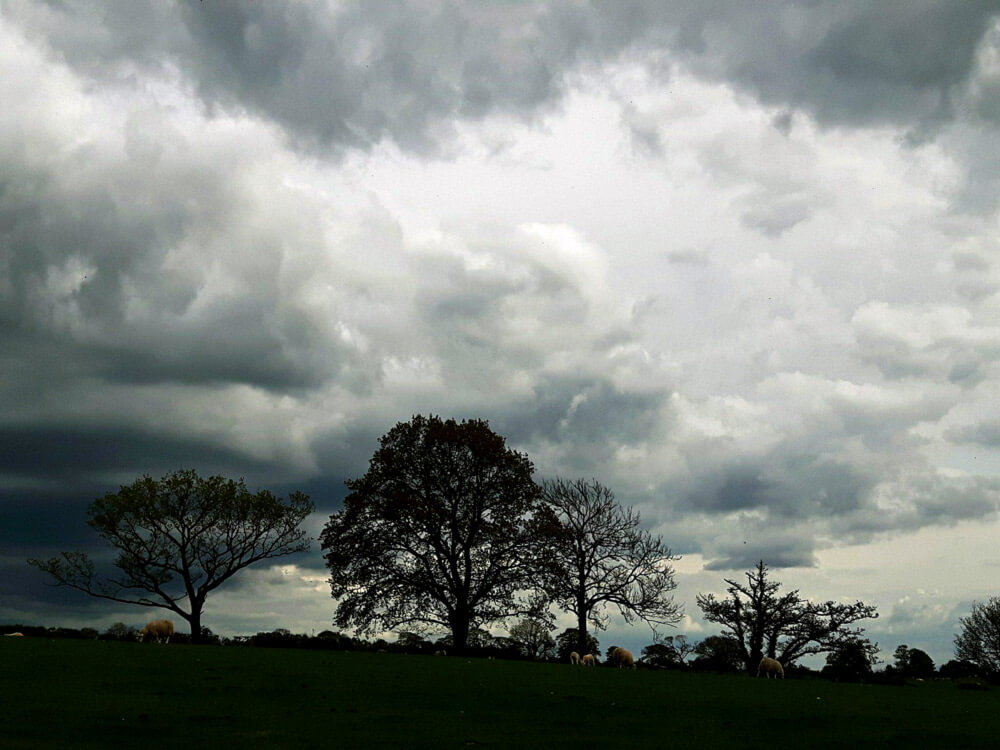 Dramatic skies over the Battlefield by Liddel's Strength
